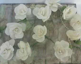 Paper flower garlandpaper flowerswedding arch garlandtable tissue paper flower garland table flower decorationparty garlandwedding garlandcustom mightylinksfo