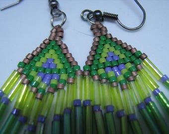 Native spirit earrings ready to go