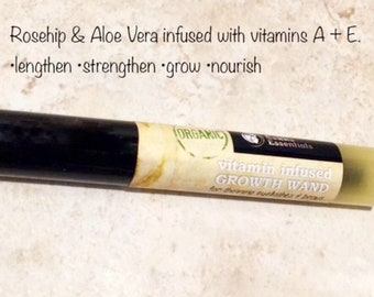 Lash & Brow Wand! With aloe, vitamins E, C + A! Tested effective for length, fullness, thickness! Results in about two weeks! Organic!