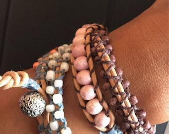 Bohemian Wrap Bracelets