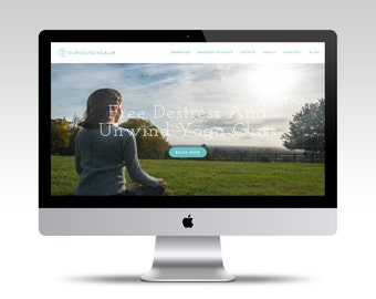 Deluxe Squarespace Website, Custom Website, Website Design