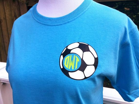 Soccer Ball Monogram T-Shirt