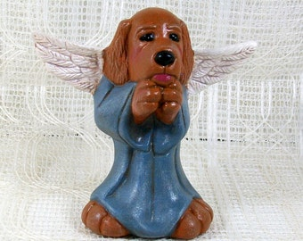 Dog Angel / Angel Statue / Angel Gift / Dog Decor  / Dog Figurine / Dog Statue / Angel Figurine / Angel Decor / Dog Lover Gift