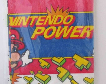 Nintendo Power Mario Paper Party Table Cover 1990