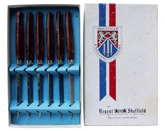 Sheffield English Cutlery, Set of 6