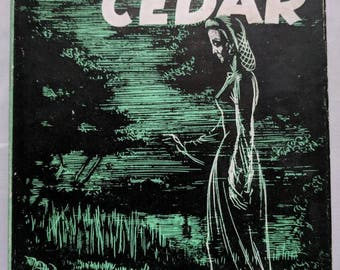 Vintage 1945 The Fourth Cedar by Ursula Bloom Book Club Edition With Dust Jacket