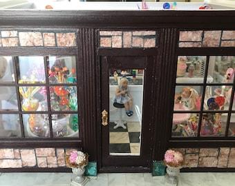 1/12 scale dollhouse miniature sweet shop