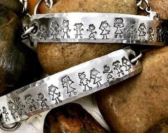 Teachers Bracelet - Gift for Teacher - Teacher Bracelet Personalized - Mom Bracelet - Teacher Gift from Student - Stainless Steel Link Chain