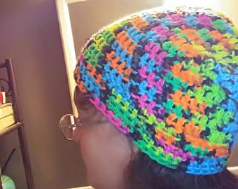 Bright Slouchy Hat