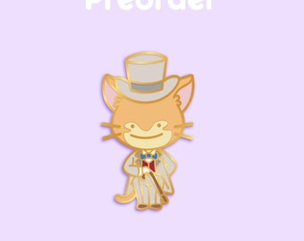 PREORDER THE BARON Ditto x Anime Movie Enamel Pin [Studio Ghibli The Cat Returns Whisper of the Heart Cat Pokemon Parody Flair Badge]