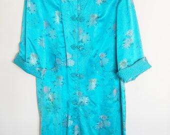 Vintage Silk Japanese Robe // Size 36