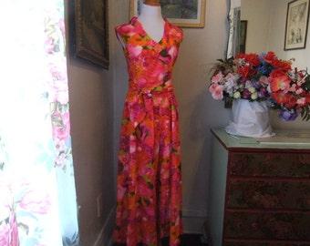 1970's Kiyomi of Hawaii Pant Dress
