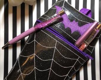 Coffin purse, coddin pouch
