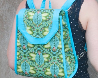 Promise Ring Backpack PDF sewing pattern