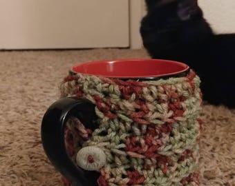 Crochet coffee/tea cozies