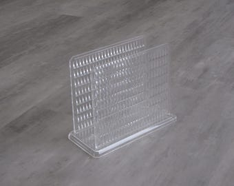 Vintage Clear Plastic Napkin Holder