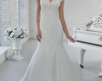 Wedding dress wedding dress bridal gown SAMANTA meerjungrau mermaid dress