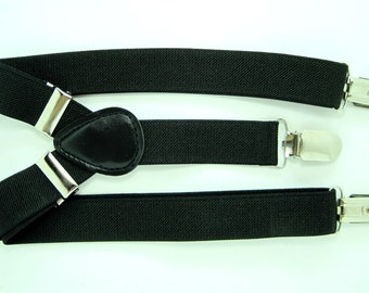 Black Suspender  for Baby, Toddler and Boys