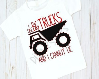 Kids-I like Big Trucks T shirt