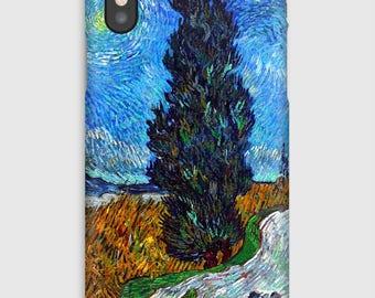 Case for iPhone X 8, 8 +, 7, 7 +, 6s, 6, 6s +, 6, 5 c, 5, 5s 5SE, 4s, 4, Van Gogh in Provence