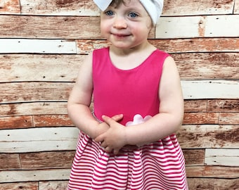 White Knit Headwrap- Headwrap; Stretchy Headwrap; Baby Headband; Toddler Headband; Stretchy Head Wrap; Baby Headwrap; Toddler Headwrap