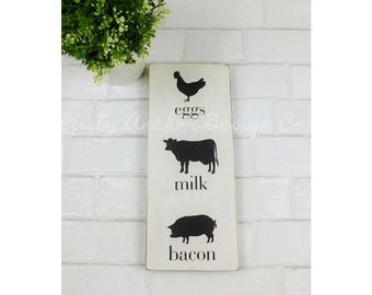 Farm-to-table sign