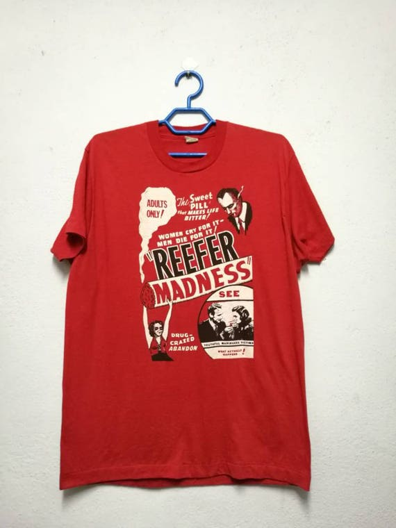 Tee shirt Refeer T 80s Madness Movie Vintage I8Uqa