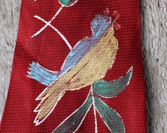 Vintage Handpainted Necktie