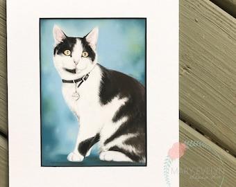 Custom Pastel Pet Portrait Drawing