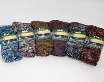 Irish Cottage Socks - 100% Natural Irish Wool - Women