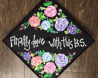 Painted Graduation Caps