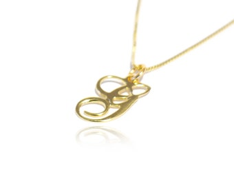 Gold initial pendant etsy 14k gold initial necklace real gold initial necklace 14 carat gold initial pendant necklace 14k initial aloadofball Choice Image