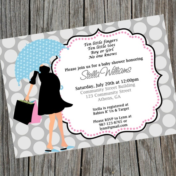 Baby shower invitation gender neutral baby shower invite like this item filmwisefo Image collections
