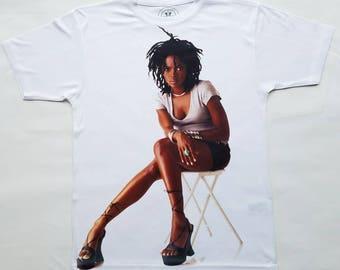 Lauryn Hill sublimation T shirt