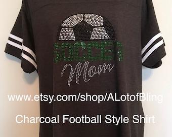 Soccer Mom Rhinestone T-Shirt