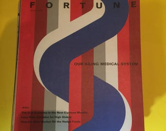 FORTUNE MAGAZINE 1970 Our  Ailing Medical System