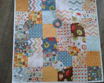 School Days small baby quilt.