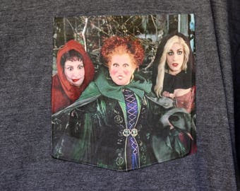 Hocus Pocus - Pocket T-Shirt