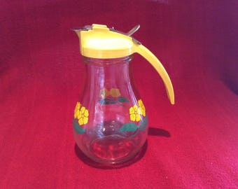 Dripcup Syrup Pitcher Circa 1950