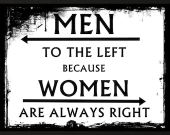 """Funny Bar Sign, Bathroom Poster, Gag Gift, Gift For Her, Gift For Him, Novelty Man Cave Wall Art, Women  Wall Decor, 8x10"""", 11x14"""" Free Ship"""