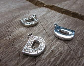 Letter D Pendant Charms ~1 pieces #100592