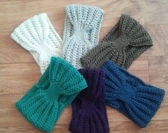Headband Ear Warmer / Cozy Ear Warmer / Crochet Headband / Winter Accessories / Women's gifts / Christmas Gifts