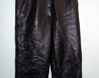 Firenze Leather Pants   Size 6