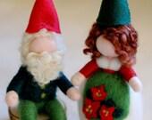 Couple Christmas gnomes, ...