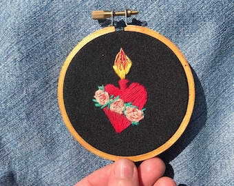 Sacred Heart Embroidery