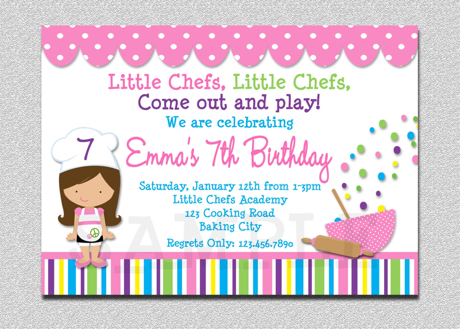 Cooking party invitations images invitation templates free download baking birthday party invitations preppy baking kitchen stopboris Gallery