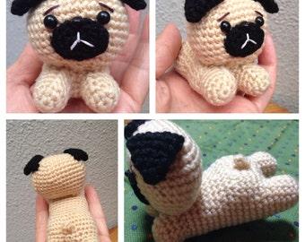 Cutie Tushie Pug