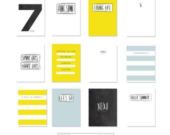 Revista digital tarjetas - días de sol