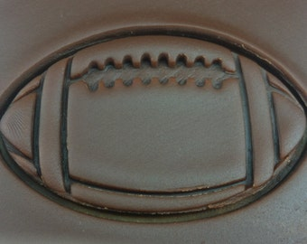 Football Cookie Cutter - SHARP EDGES - FAST Shipping - Choose Your Own Size!