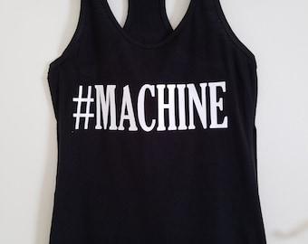 MACHINE Racerback Tank